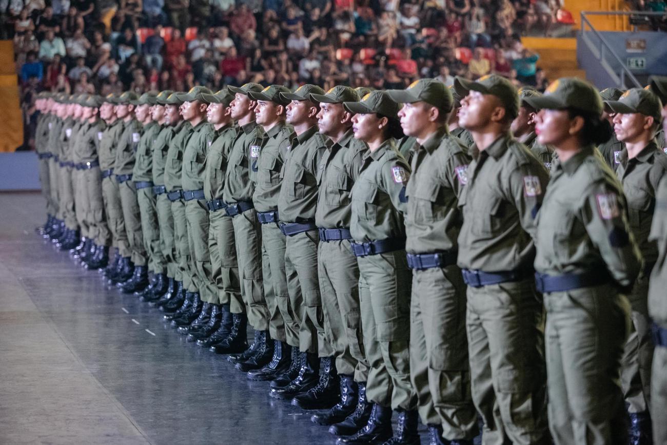 São 430 novos policiais militares que vão atuar em sete bairros da Região Metropolitana de Belém